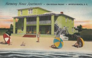 MYRTLE BEACH , South Carolina , PU-1956 ; Narmony House Apartments
