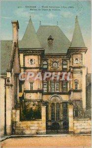 Postcard Old Orleans Museum Historic House of Diane de Poitiers