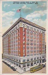Ohio Cincinnati Provident Savings Bank & Trust Company 1933 Kraemer Art