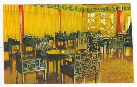 Lounge of Chi-Lin Pavillion,Grand Hotel,Taipei, 40-60s