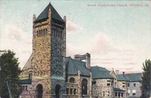 Illinois Peoria Second Presbyterian Church1907