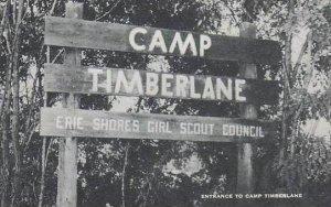 Wisconsin Timberlane Entrance To Camp Timberlane Artvue