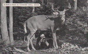 Michigan Garden Hill Deer Hunter