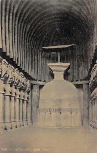 India Karli Cave, Principal Cave, Interior Antique Series