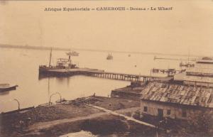 Le Wharf, Afrique Equatoriale, Douala, Cameroon, Africa, 1900-1910s