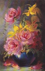 Flowers , artist Mary GOLAY , PU-107