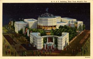 NY - New York World's Fair, 1939. AT & T Building
