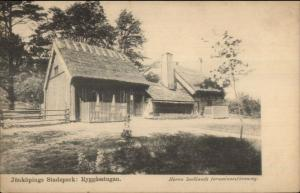 Jonkopings Stadspark - Ryggasstugan c1910 Postcard