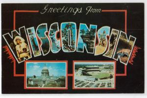Large Letter WISCONSIN