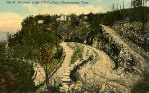 TN - Chattanooga. The West Waldens Ridge