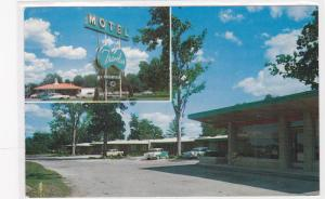 2-views,  Travelier Motel,  Columbia,  Missouri,  40-60s