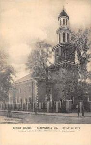 Virginia   ALexandria   Christ Church,
