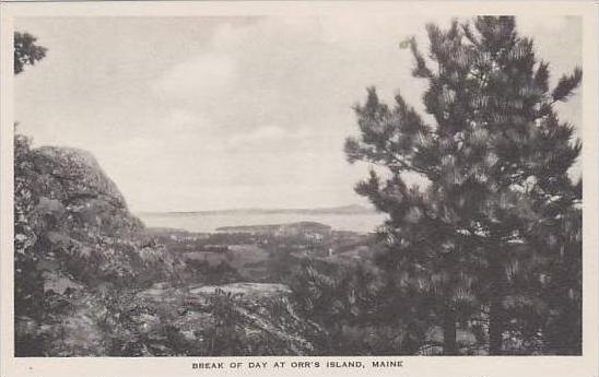 Maine Orrs Island Break Of Day At Orrs Island Albertype