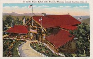Colorado Lookout Mountain Pa-Ha-Ska Tepee Buffalo Bill's Memorial Museum Curt...