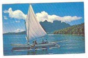 Bora Bora Scene, Tahiti,    PU-1980