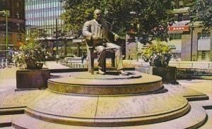 Ohio Cleveland Tom L Johnson Statue Public Square