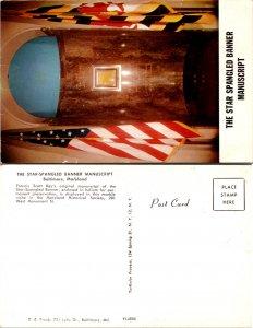 The Star Spangled Banner Manuscript (10503)