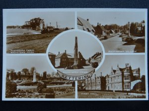 Northamptonshire KETTERING 5 Image Multiview c1950s RP Postcard by Valentine