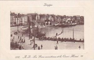 La Gare Maritime Et Le Quai Henri IV, Dieppe (Seine Maritime), France, 1900-1...