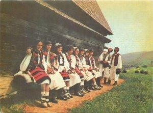 Postcard Traditii si port popular felicitare Maramures Sighet