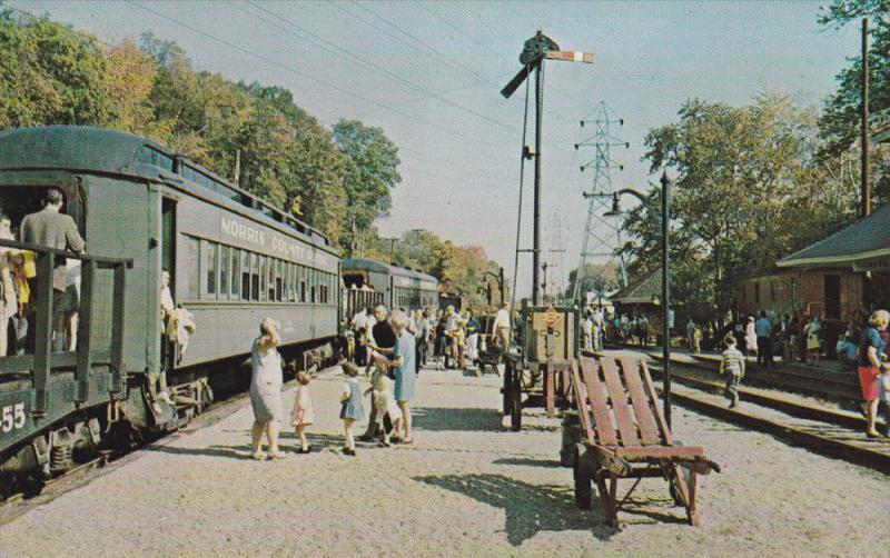 Morris County Central RR, WHIPPANY, New Jersey, 40-60's