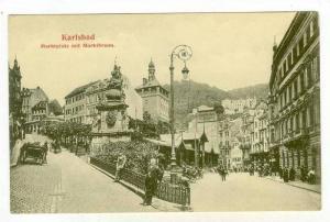 Karlsbad,Czech Republic, 00-10s   Marktplatz mit Marktbrunn