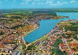 Denmark Flensburg City View and Fjord