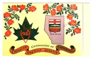AS: Katherine Huber, Centennial of Canadian Red Deer Confederation, Red Deer,...