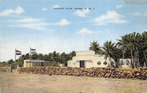 Aruba Post card Old Vintage Antique Postcard Country Club, Aruba Unused