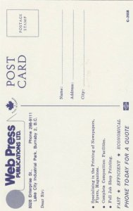 BURNABY , B.C. , 50-60s ; WEb Press Publications