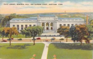 10543 State Library, Memorial Hall and Supreme Court, Hartford, Conn.