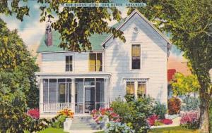 Bob Burns Home Van Buren Arkansas 1950