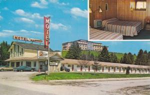 2-Views, Motel Maniwaki Motel Enr. Maniwaki, Province of Quebec, Canada, 40-60s
