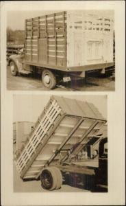 Chicago Load King Dump For Trucks St. Paul Dump It Hoist Real Photo Postcard