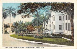 Ancon Panama Canal Zone Hospital Concrete Wards Antique Postcard K15496