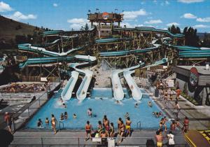 Alternate View, Giant Water Slides, Wild Waters Waterpark, Kelowna, British C...