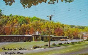 Massachusetts Westfield Berkshire Hills Motel 1965