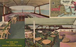 NORTH WEYMOUTH , Massachusetts, 1930-40s ; The Surf Club : CAIN'S