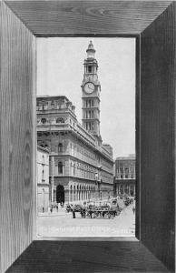 C-1910 Sydney Australia Green Tint frame like Postcard Central Post Office 3678