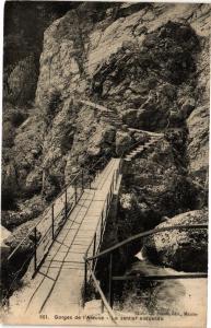 CPA   Gorges de l'Areuse - Le sentier suspendu   (183150)