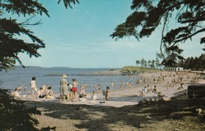 HALIFAX, Nova Scotia, Canada, 50-70s ; Black Rock Beach , Pt Pleasant