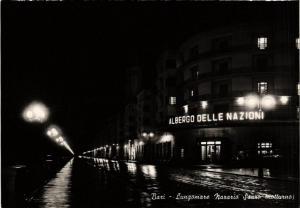 CPA BARI Lungomare Nazario Sauro notturno. ITALY (531774)