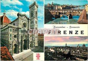 Postcard Modern Firenze memory