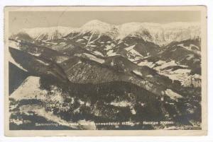 RP, Panorama Vom Sonnwendstein 1523m., Semmering, Lower Austria, PU-1931