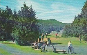 Canada New Brunswick Golf Course Fundy National Park 1st Tee