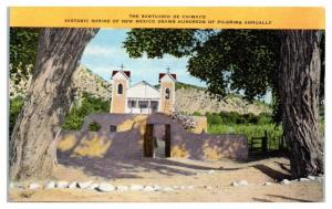 Santuario de Chimayo New Mexico Shrine Postcard