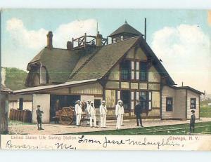 Pre-1907 BUILDING Oswego New York NY A0510