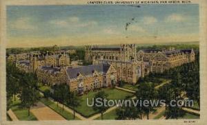 Lawyers Club, University of Michigan Ann Arbor MI 1947