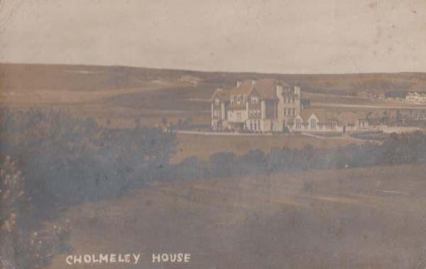 Cholmeley House London MP & Recorder Highgate School Founder Antique Postcard