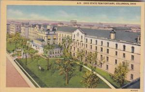 Ohio Columbus Ohio State Penitentiary Curteich